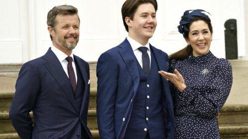 Prinz Christian vermisst Verwandte bei Konfirmation