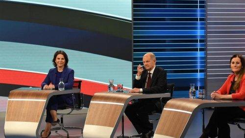 Bundestagswahl: TV-Wahlkampfrunde - Streit über Verteidigung und Finanzen