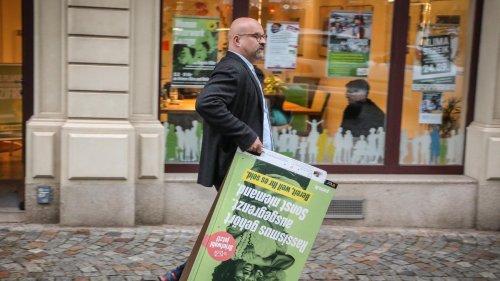 III. Weg: Grüne starten Aktion gegen Wahlwerbung des III. Wegs