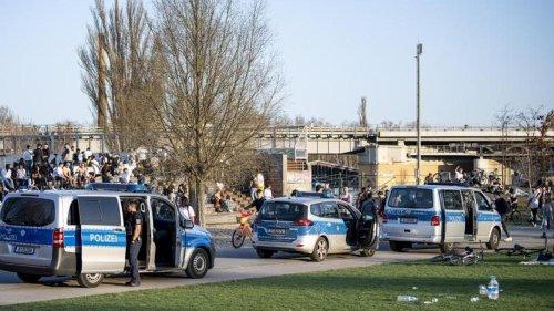 Kriminalität: Müll und Zerstörungen im Gleisdreieckpark