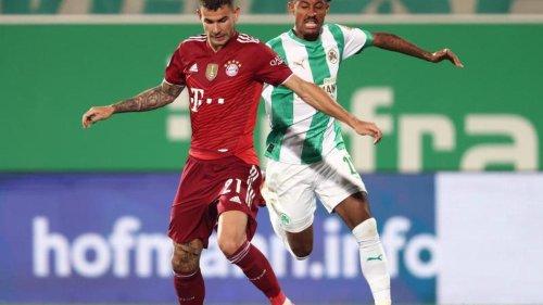 Fußball: Rot und Gegentor in Fürth: FC Bayern legt mit 3:1 vor