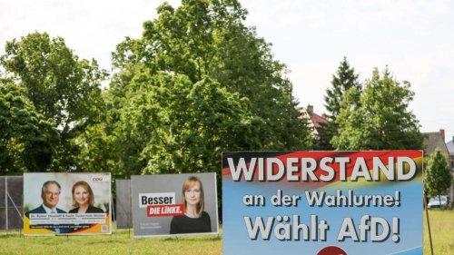 Parteien kämpfen um Unentschlossene in Sachsen-Anhalt
