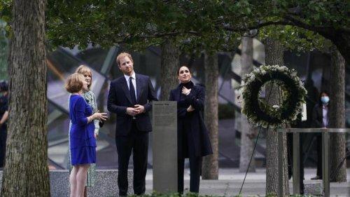 Royals in New York: Meghan und Harry besuchen 9/11-Gedenkstätte in New York