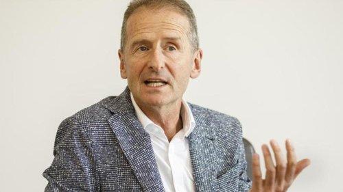 Auto: USA-Reise abgesagt: Diess bleibt nach Kritik in Wolfsburg