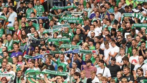 Fußball: Werder gegen Hannover: Zweitliga-Nordduell vor 14.000 Fans