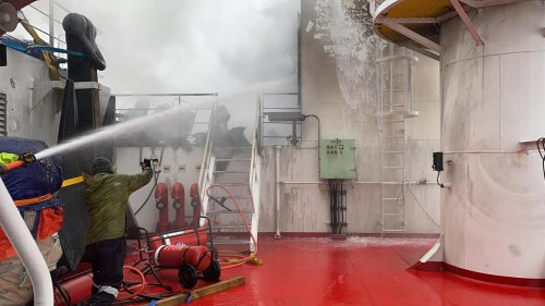 Fire-hit Antarctic Ship Docks In Western Australia - Zenger News