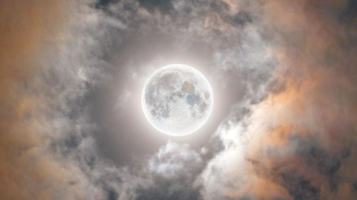 Moon Shiver: Photographer's Spooky Image Of Halloween Blood Moon - Zenger News