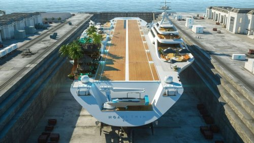 Yacht-Top: Shipbuilders Want To Turn Retired Navy Aircraft Carrier Into A Luxury Yacht - Zenger News