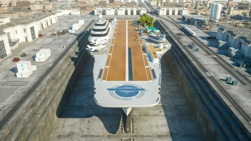 This Retired Aircraft Carrier Could Become A Luxury Yacht with A Golf Course - Zenger News