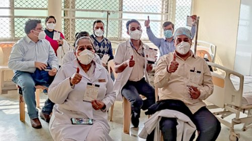 First Day, First Shot: India Launches The World's Largest Vaccination Drive - Zenger News
