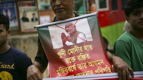 Bangladesh Police Detain Hundreds After Violent Protests Against Indian PM's Visit - Zenger News