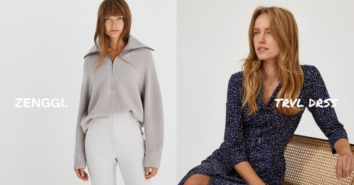 COTTON STRETCH COLORADO DRESS › Kleider › ZENGGI
