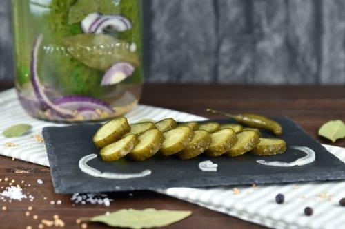 Fermentierte Gurken - Senf- und Chili-Koriandergurken - Zimt & Chili