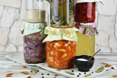 Wilde Fermentation von Obst, Gemüse und Kohl