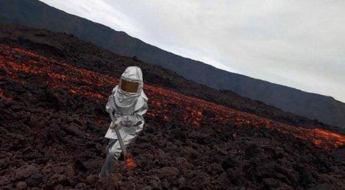 """Volcan : Du magma """"ancien"""" expulsé par du nouveau magma"""