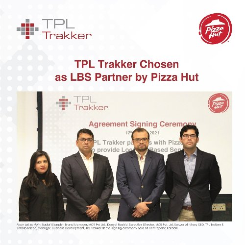 TPL Trakker Chosen as LBS Partner by Pizza Hut