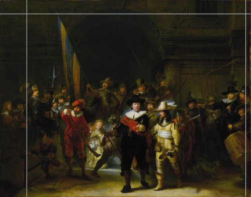 An AI algorithm just completed a famous Rembrandt painting