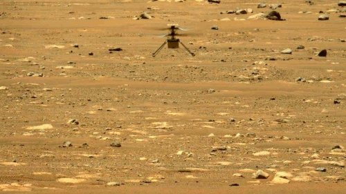 After three successful flights, NASA's Mars helicopter soars to higher ambition