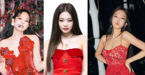 All the times Blackpink's Jennie stunned in red outfits