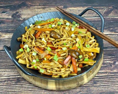 Asia Gemüse Nudelpfanne - Zu Faul Zum Kochen?
