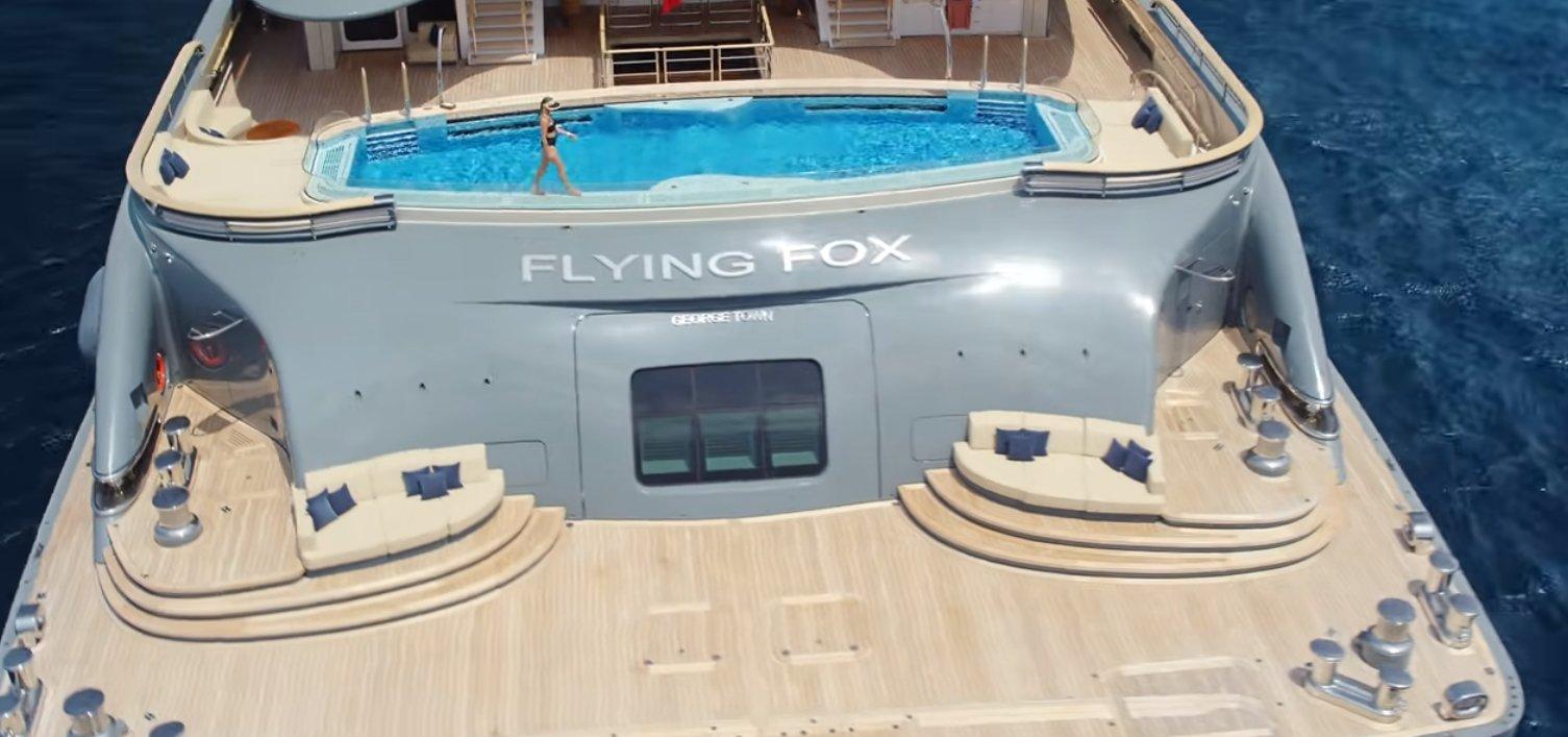 alquiler de yates de lujo con tripulación: FLYING FOX